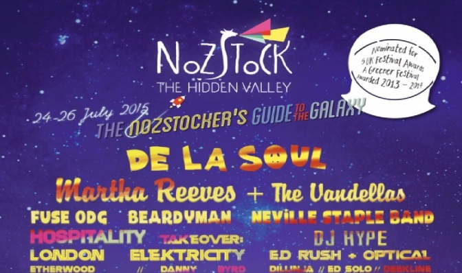 NOSTOCK FESTIVAL REVIEW by PAUL LAIGHT