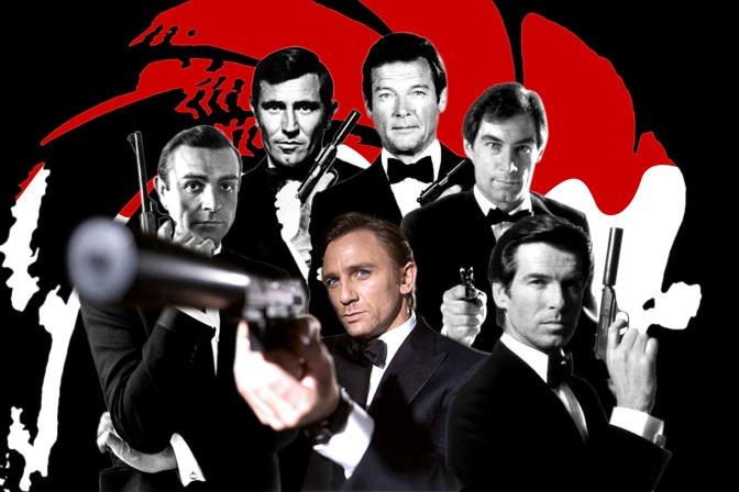 LICENSED TO THRILL: SOME MEMORABLE 007 MOMENTS by PAUL LAIGHT