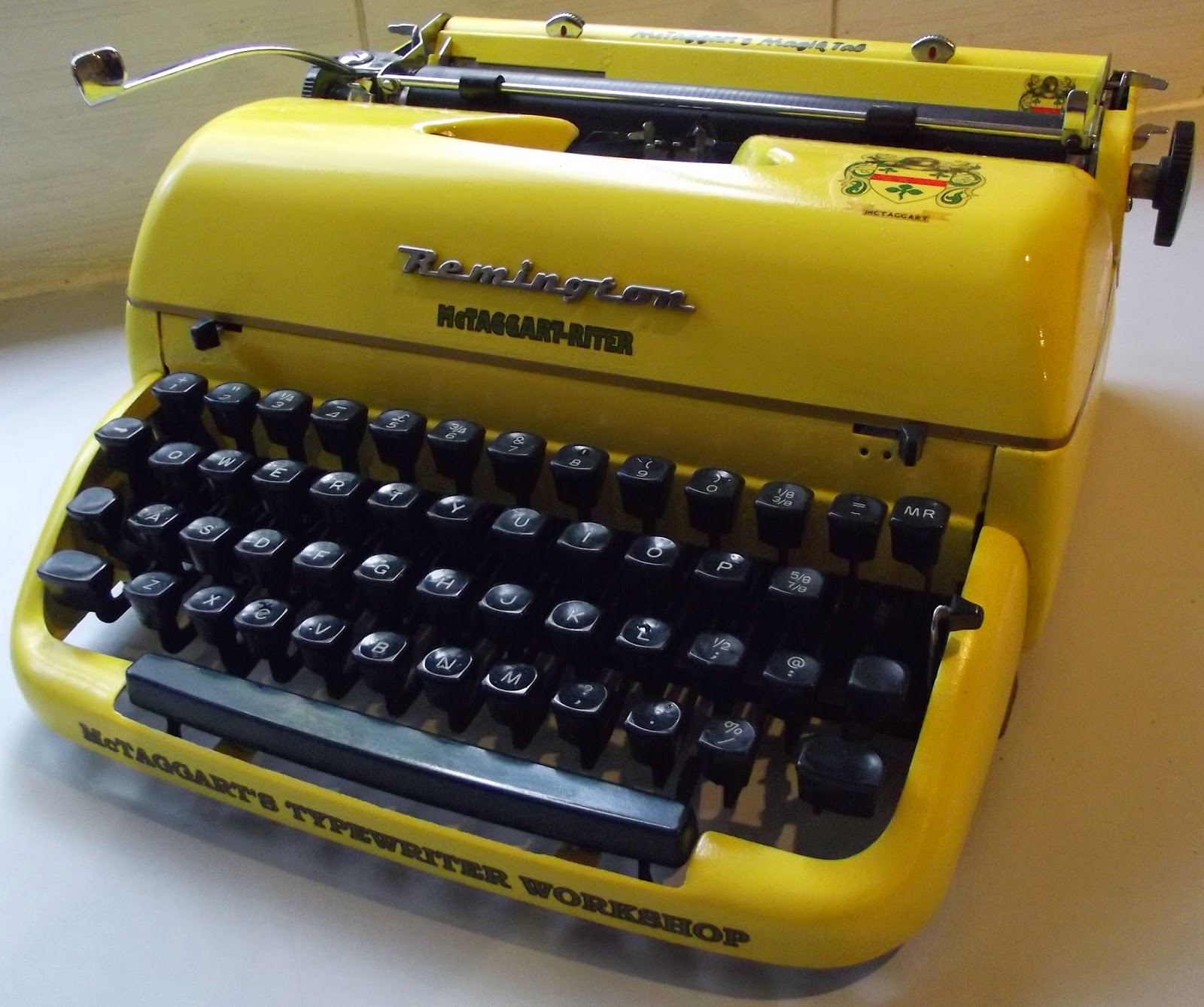A McTaggart-Riter 003