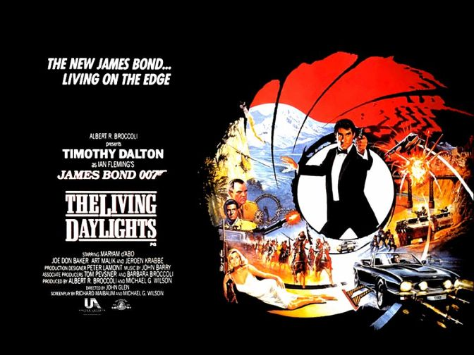 THE LIVING DAYLIGHTS (1987) – CLASSIC FILM REVIEW BY PAUL LAIGHT
