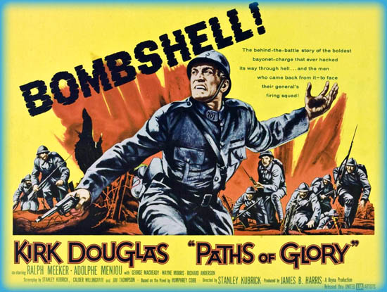 PATHS OF GLORY (1957) – CLASSIC FILM REVIEW by PAUL LAIGHT
