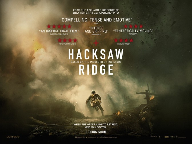 WAR AS HEAVEN AND HELL! HACKSAW RIDGE (2016) REVIEW