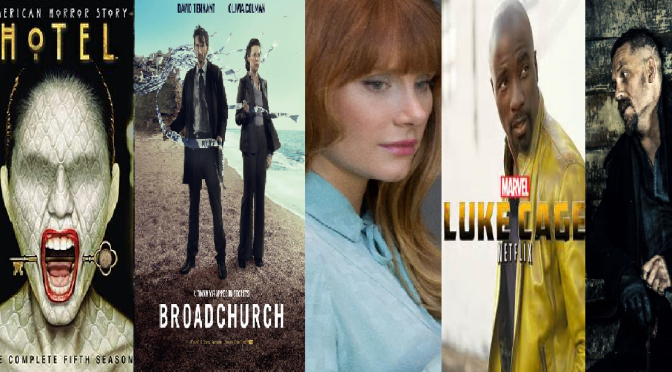 SCREENWASH – TV DRAMA REVIEW ROUND-UP including BLACK MIRROR, BROADCHURCH, LUKE CAGE etc.