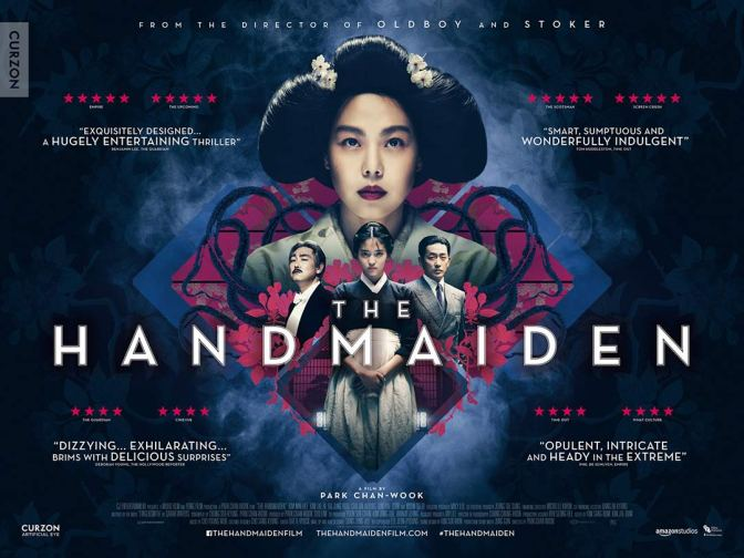 CINEMA REVIEW: THE HANDMAIDEN (2016)
