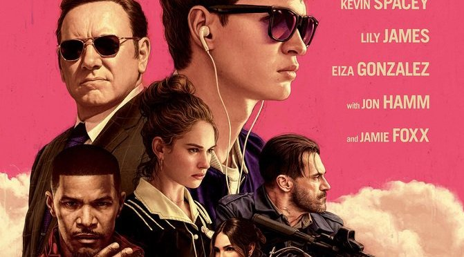 Edgar Wright's irrepressible 'BABY DRIVER' (2017): MOVIE REVIEW
