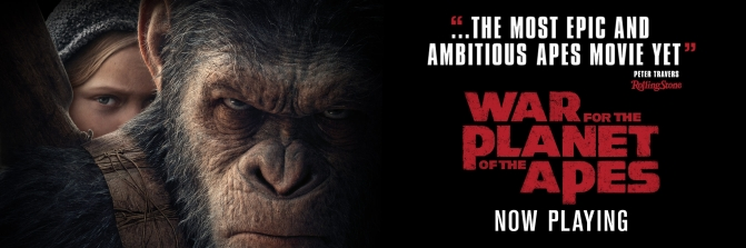 SCREENWASH CINEMA SPECIAL – JULY 2017 – Reviews include: WAR FOR THE PLANET OF THE APES, SPIDERMAN, THE BEGUILED etc.
