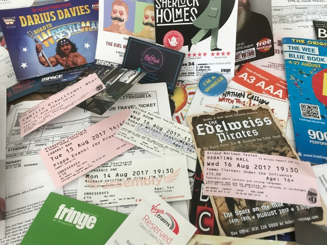 EDINBURGH FRINGE FESTIVAL 2017: PHOTO MONTAGE REVIEW