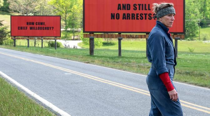 THREE BILLBOARDS OUTSIDE EBBING, MISSOURI (2017) – LONDON FILM FESTIVAL REVIEW 2017