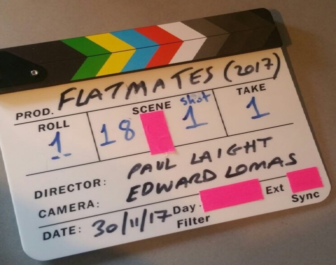 FLATMATES: A SHORT HORROR FILM PRODUCTION UPDATE