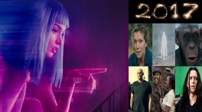 2017 – MY FAVOURITE TWELVE FILMS OF THE YEAR!