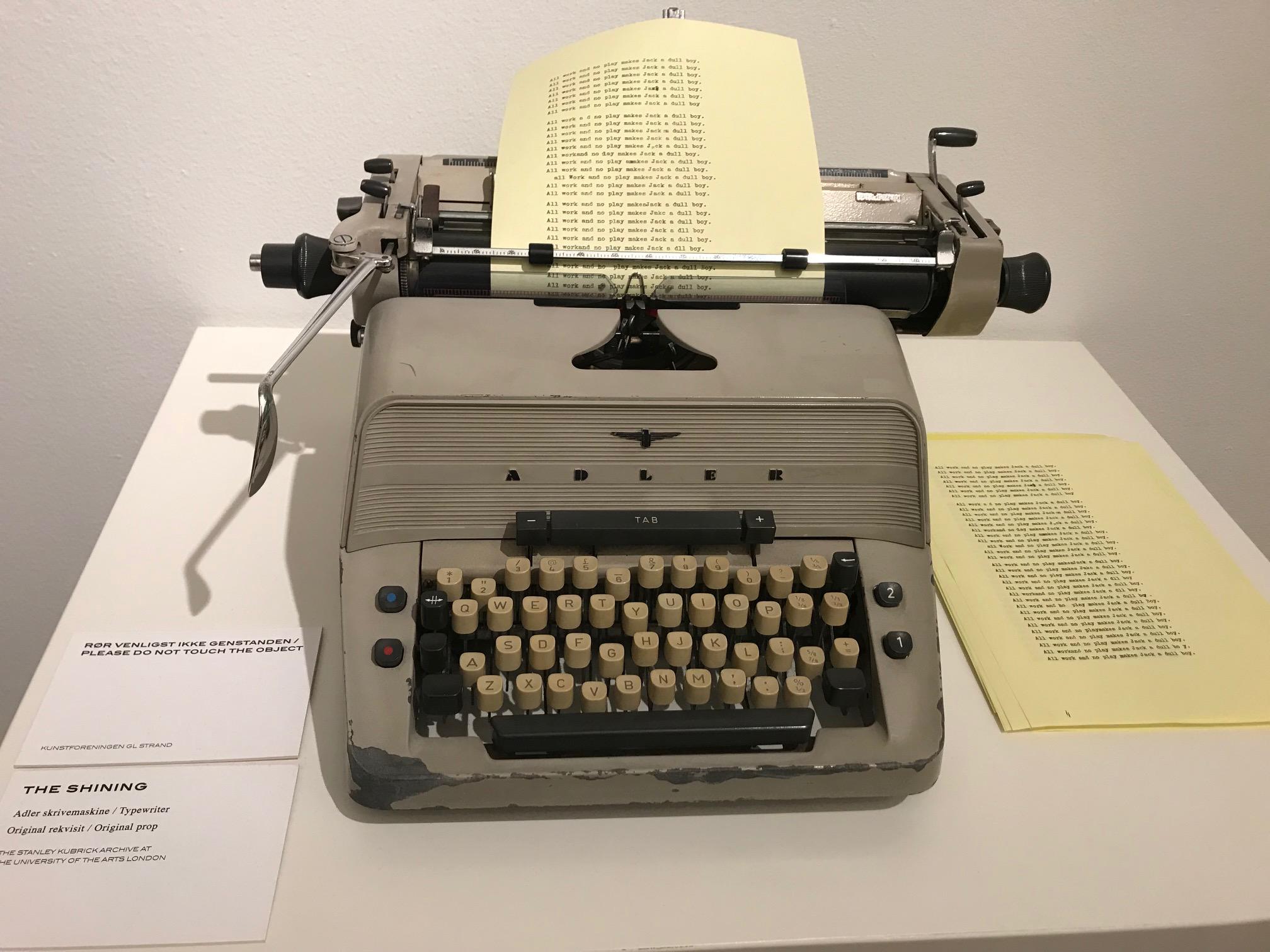 2017_Kubrick_Shining_Typewriter