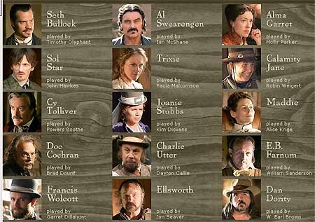 Image result for deadwood characters