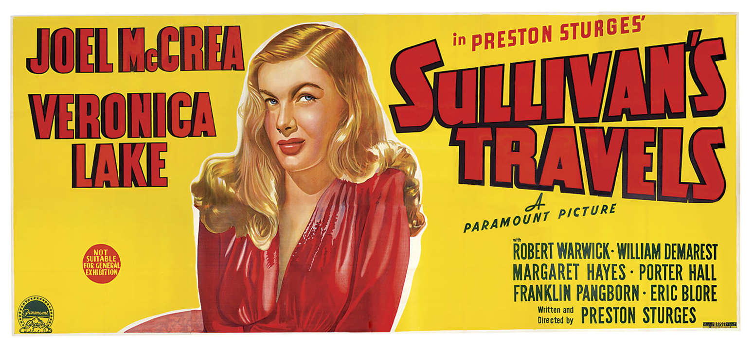 Image result for SULLIVAN'S TRAVELS POSTER