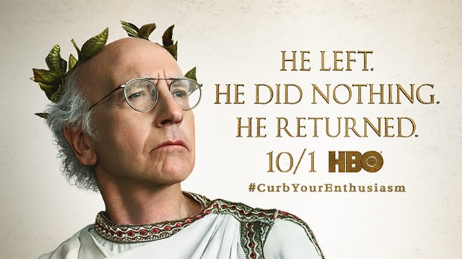 Something to offend everyone! CURB YOUR ENTHUSIASM – SEASON 9 – TV REVIEW