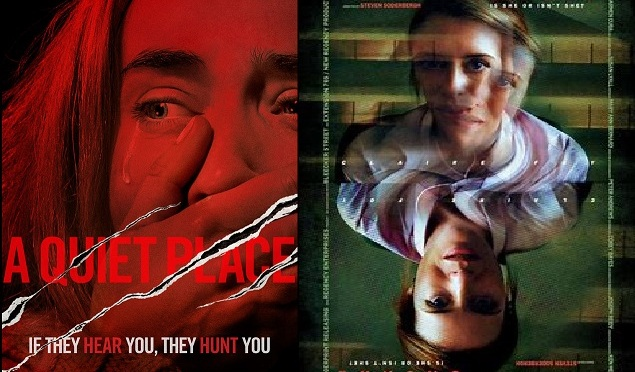SCREENWASH HORROR REVIEWS: A QUIET PLACE (2018) & UNSANE (2018)