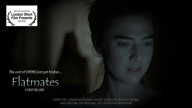 FLATMATES (2018) – A short horror film release