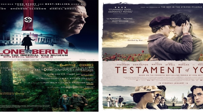 SCREENWASH MOVIE REVIEW ROUND-UP – SUMMER 2018 – including: Alone in Berlin (2018), Call Me by Your Name (2017), Leave No Trace (2018), Testament of Youth (2014) and many more.