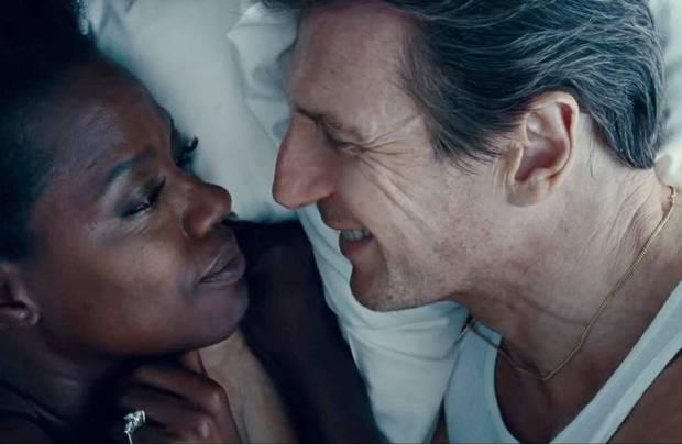 Liam Neeson and Viola Davis