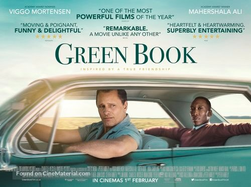 GREEN BOOK (2018) – CINEMA REVIEW & OSCAR BINGO #4