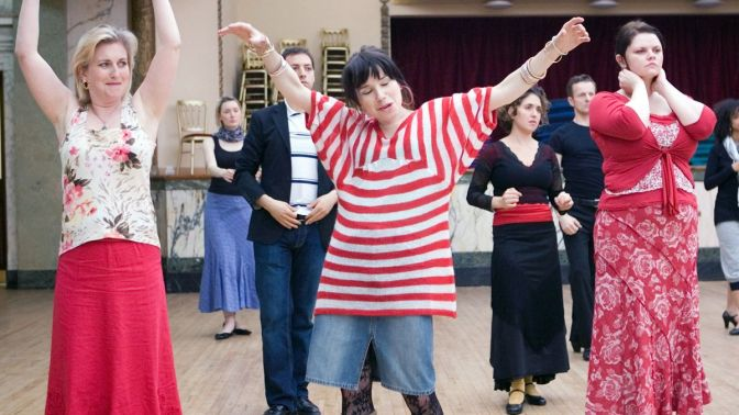 CLASSIC MOVIE SCENES #7 – 'FLAMENCO DANCE' SCENE – HAPPY GO LUCKY (2008)