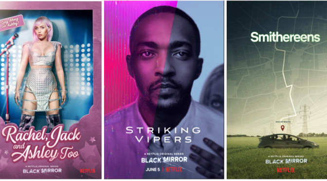 BLACK MIRROR (2019) – SEASON 5 – NETFLIX REVIEW