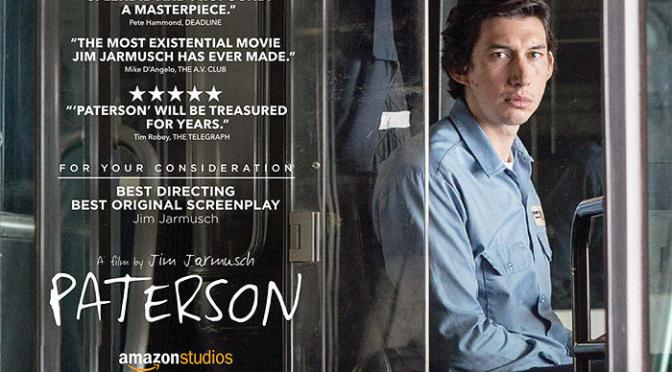 FILMS THAT GOT AWAY #3 – PATERSON (2016)