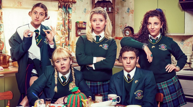 ALL 4 TV REVIEW – DERRY GIRLS (2018 – 2019) – SEASONS 1 & 2