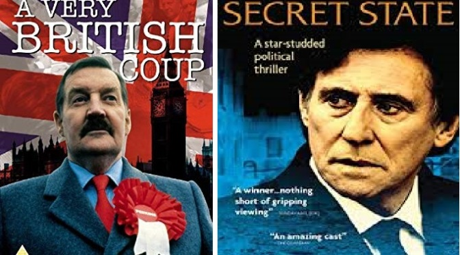 ALL 4 TV REVIEWS – A VERY BRITISH COUP (1988) & SECRET STATE (2012)
