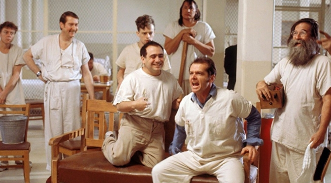"CLASSIC MOVIE SCENES #12 – ONE FLEW OVER THE CUCKOO'S NEST (1975) – ""WORLD SERIES"""