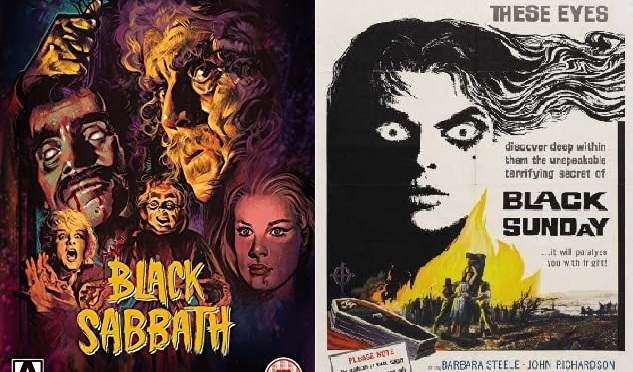 CLASSIC HORROR FILM DOUBLE BILL REVIEW – BLACK SUNDAY (1960) & BLACK SABBATH (1963)