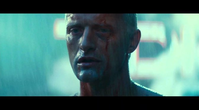 "CLASSIC MOVIE SCENES #13 – BLADERUNNER (1982) – ""TEARS IN THE RAIN."""