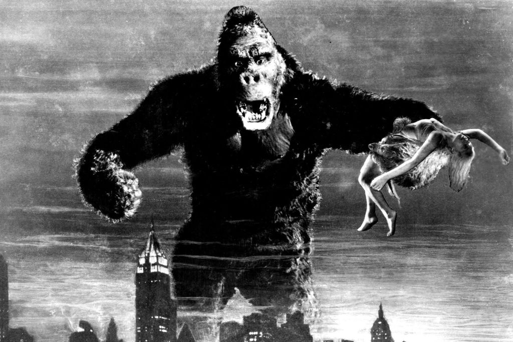 How King Kong quadrupled in size since 1933