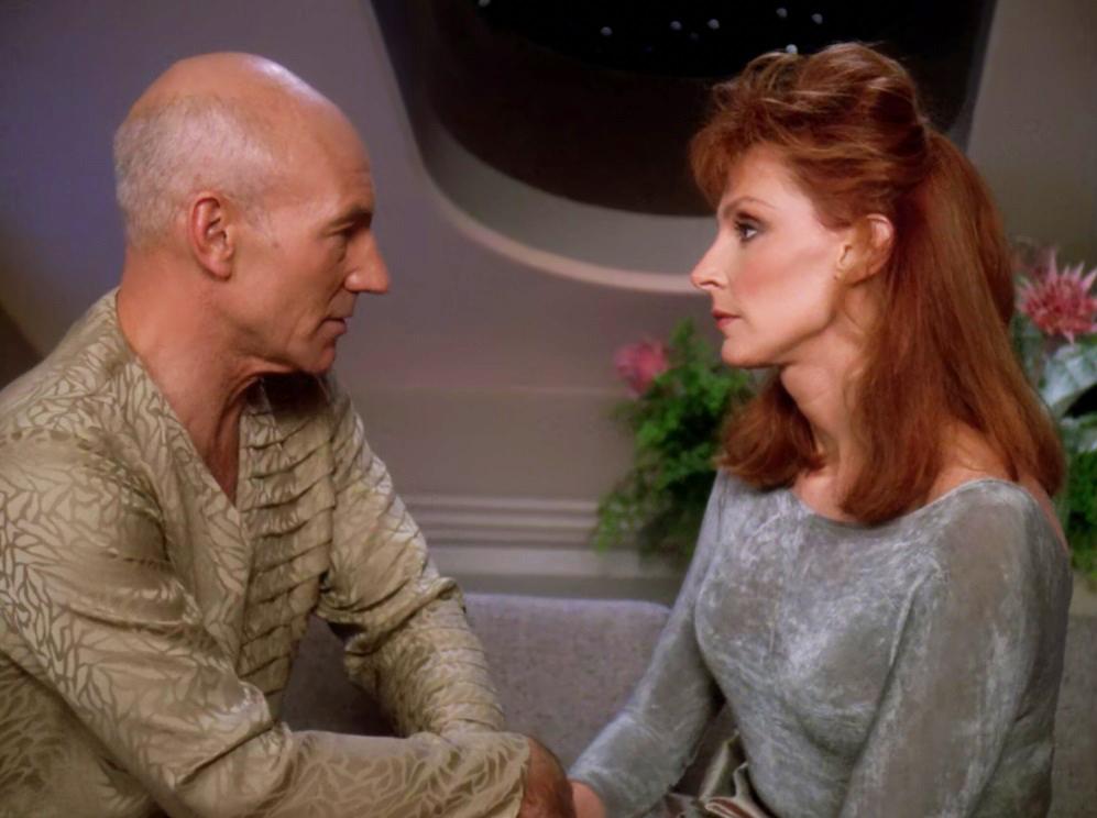 Doux Reviews: Star Trek The Next Generation: Attached